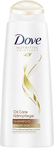 Champú Dove nutritivo, para el cuidado del cabello, con aceite (6 unidades...