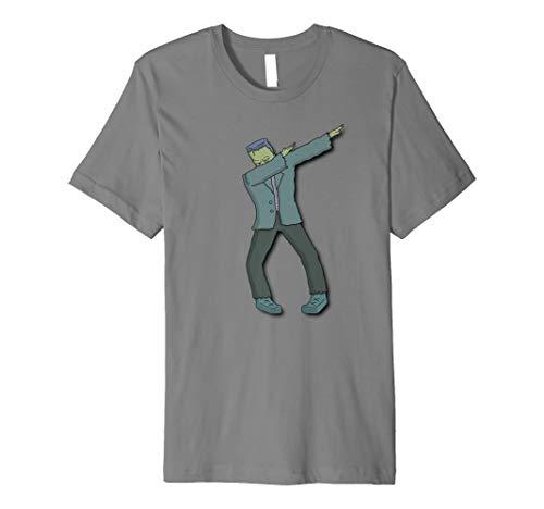 Funny Sanftes Frankenstein Halloween DAB Kostüme Geschenk Shirt