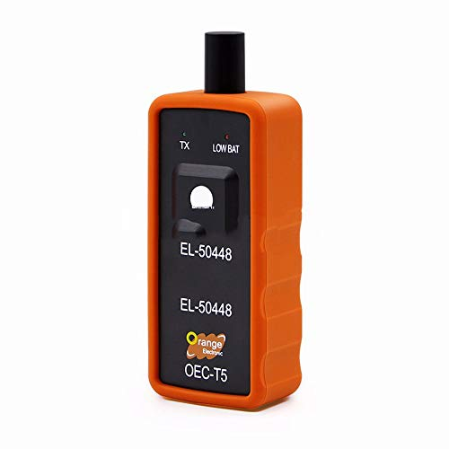 Hadeyicar Migliore qualità + EL50448 sensore di Pressione del Pneumatico Auto Monitor OEC-T5 El 50448 per GM/Opel Strumento di Reset TPMS EL-50448