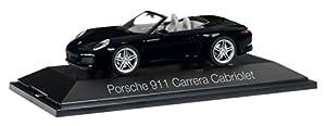 Herpa 071031-Porsche 911Carrera Cabriolet 991II