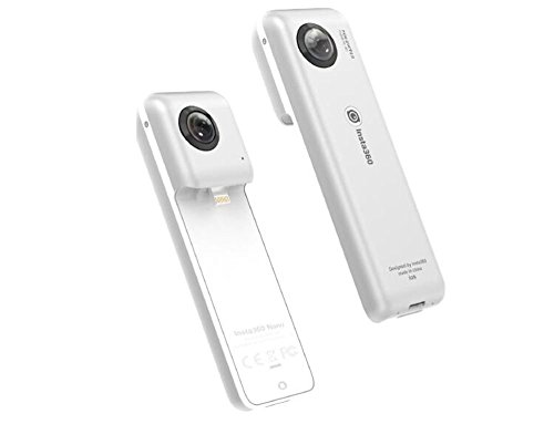 Insta360 Double caméra vidéo panoramique 210°/ objectif grand Angle Fisheye