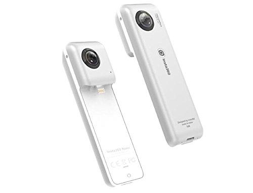 Insta360 Nano 3K HD Compatta Mini cam 360 Grado Panoramica Panorama Camera 210 Gradi Doppio Grandangolare di 360 Fisheye per VR Auricolare Occhiali
