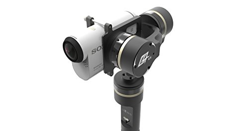 Best Feiyu Tech GM-G4-S 3-Axis Gimbal for Sony Action Camera (Black) on Amazon