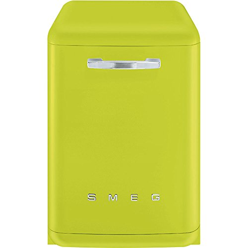 Smeg LVFABLI Stand Geschirrspüler Apfelgrün Spülmaschine 50's Style Retro A+++