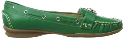 Andrea Conti - 0873010, Mocassins Femmes Vert (grün (grün 041))