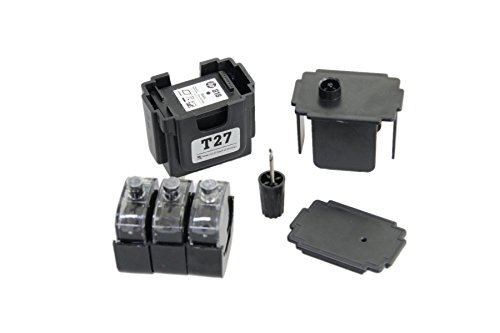 EASY-REFILL Nachfüllset für PG-510 + PG-512 black Patronen - Befülladapter + 3 Füllungen. Druckerpatronen ganz einfach und schnell selbst befüllen! Mit Video-Befüllanleitung in Youtube - Easy-refill-kit