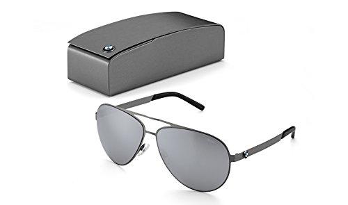 BMW Original Iconic Kollektion Aviator Sonnenbrille verspiegelt Lence 80252412754
