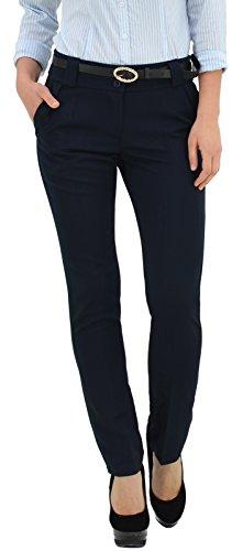 Pantalon femme chic pantalon pour femme pantalons en femme en 5 couleurs H500 Bleu