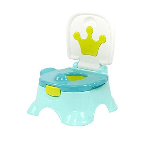 LF stores Potty Chair Kind Toilette Baby weibliche Toilette tragbare Urinal Baby Toilette groß einfach Toilettentrainer (Color : Green, Größe : 27.5 * 30cm) - Grau Körperliches Training