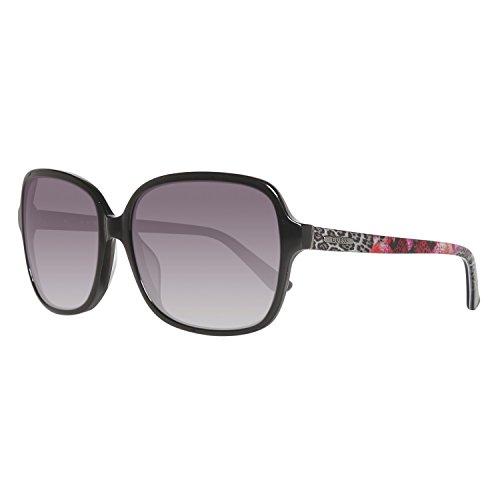 Guess Damen GU7382 6001B Sonnenbrille, Schwarz, 60