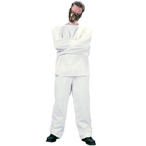 Kostüm Zwangsjacke Jacke Hose Maske Zwangsjackenkostüm M/L