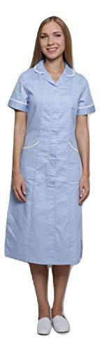 Mirabella Health and Beauty Clothing - Vestito - Camicia - Donna Sky  Blue White 48 1054c7642772