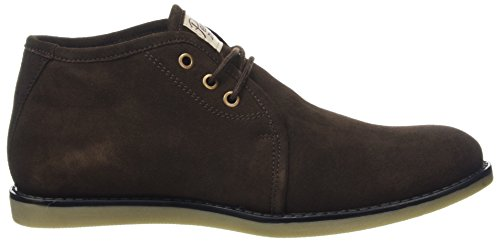 Original Penguins Herren Lawyer Combat Boots Braun