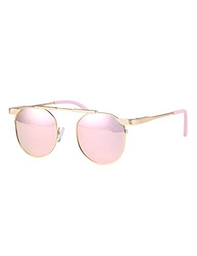 Bunte Baby-Sonnenbrillen Bequeme Anti-UV-Gläser Elegante und schöne trendige Brille ( Farbe : 2 )