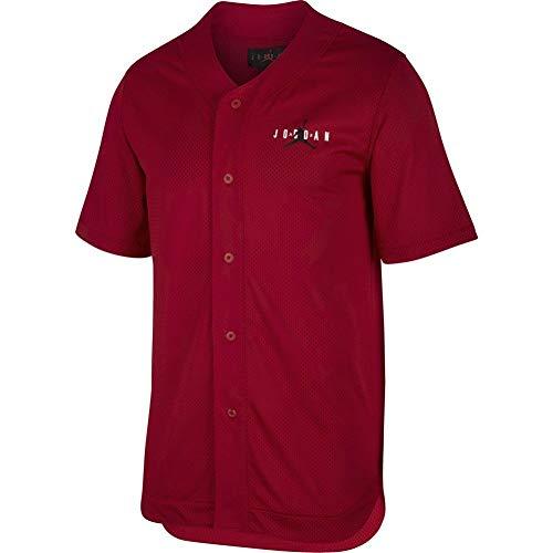 0f5d405423 Jordan Jumpman Air Mesh JSY Camisa Manga Corta Hombre Rojo XS (X-Small)