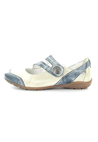 Remonte R1710 01, Chaussures de ville femme Blanc - Blanc