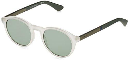 Tommy Hilfiger Unisex-Erwachsene Sonnenbrille TH 1476/S QT, Schwarz (Crystal), 51 Preisvergleich