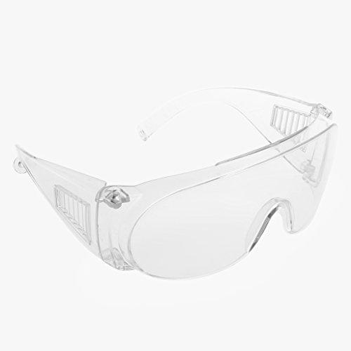 Dabixx New Clear Entlüftete Schutzbrille Augenschutz Schutzlabor Anti-Fog-Brille