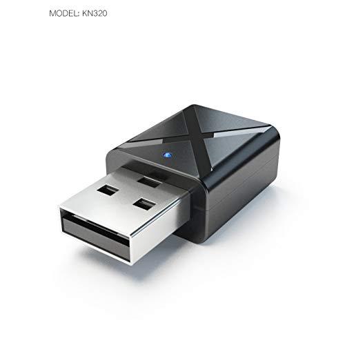Elviray USB Sender Transmite Mini V3.0 Audio Sender Stereo Adapter für TV iPod Mp3 Mp4 PC V3 Ipod