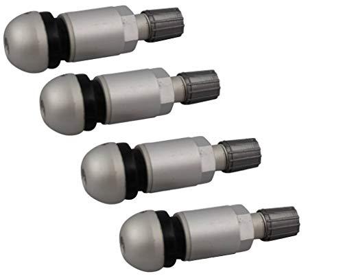 Twowinds - 4X Kit di Riparazione valvola Pressione Pneumatici TPMS A4 A6 Passat E70 E93 Coo