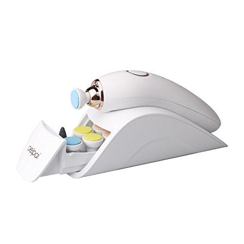Elektrische Baby Nagelfeile, PEIPAI verbesserte Version Maniküre & Pediküre Set für Neugeborene und Frauen 7 in 1 Nagelpflege Werkzeug