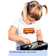 Fun & Interactive 'Wheels on the Bus' Nursery Rhyme Themed Heat Transfers Which Come To Life