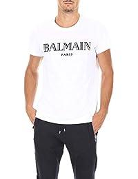 96f72adb1f Balmain - Camiseta - Redondo - Manga Corta - para Hombre