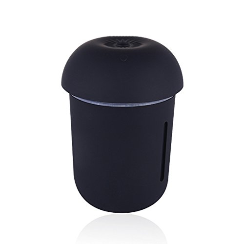 Iycorish Humidificador multifuncion lampara triple seta moda nueva humidificador USB air de oficina (Negro)Nombre del producto: USB Mushroom Lamp HumidifierModelo de producto: X1 (modelos de bateria incorporada)Material: ASBColor: negroVoltaje de fun...