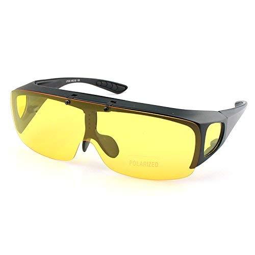 Kurzsichtig Satz von Spiegel Aneignung Sonnenbrille nach Oben drehen, um einen Spiegel für einen Satz von Spiegel Nacht Männer und Frauen Stil zu sehen, die Sonnenbrille sind teilweise Licht
