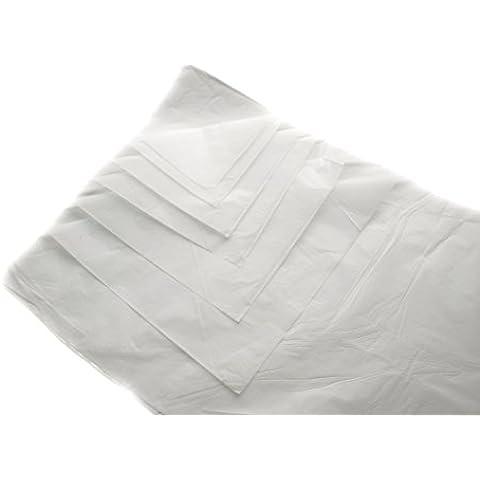 Grande, 100fogli di carta regalo bianco senza acidi, dimensioni 450x 700mm, 45,7x 71,1cm 18g/mq, imballaggio regalo Art Craft Wrap