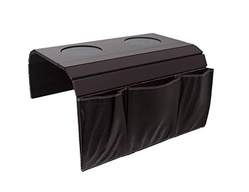Organizador reposabrazos bolsillos sofá, ideal mandos