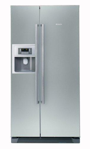 Bosch KAN58A75 Side by Side / A+ / Kühlen: 346 L / Gefrieren: 155 L / Grau - inox-antifingerprint / No Frost / Multi Airflow / Super Gefrieren