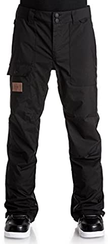 DC Dealer Homme motoneige Ski Pants–Noir/XS