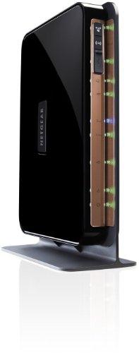 NETGEAR N750 wireless Gigabit Dualband Router (Switch, 4-Port, 450Mbps, RJ-45, USB) Nur für Österreich, Schweiz (Netgear 4-port Gigabit-switch)