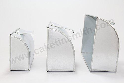 Teglia da forno in latta per torte, a forma di borsetta da donna, 1/25-Set da 3