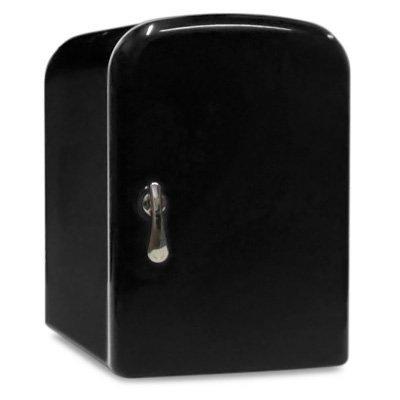 Preisvergleich Produktbild 4 Litre Black Mini Travel Fridge by Sky Industry