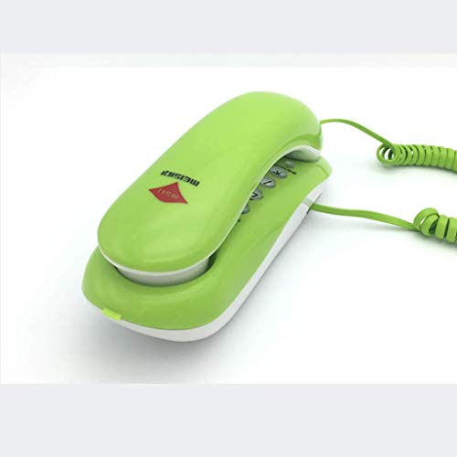 ATR Telefon Wandhalterung Festnetz Creative Home Mit Seil Kleine Erweiterung Brotmaschine, Blau, Grün HBJP