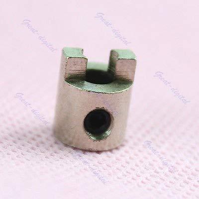 HATCHMATIC 5 Stück Edelstahl Pro Prop Drive Hund 3/16 Zoll Schaft 4,76 mm für RC Boot