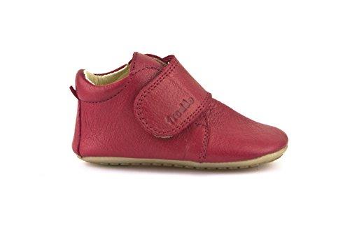 Froddo Prewalkers G1130005, Chaussures premiers pas bébé Rouge - Rouge