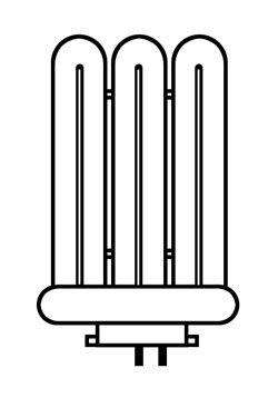 Ersatzröhre für die 42 Watt Androv Schreibtischlampe