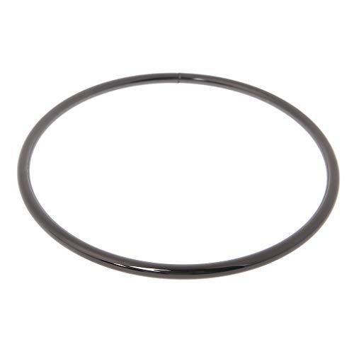 Dabixx Metall O-Ring für Gurtband Gürtelschnalle Handtasche Gurttasche 12.5cm Zubehör