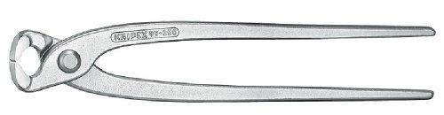 KNIPEX 99 04 280 Monierzange (Rabitz- oder Flechterzange) glanzverzinkt 280 mm