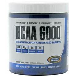 Gaspari BCAA 6000 180 Tablets from Gaspari