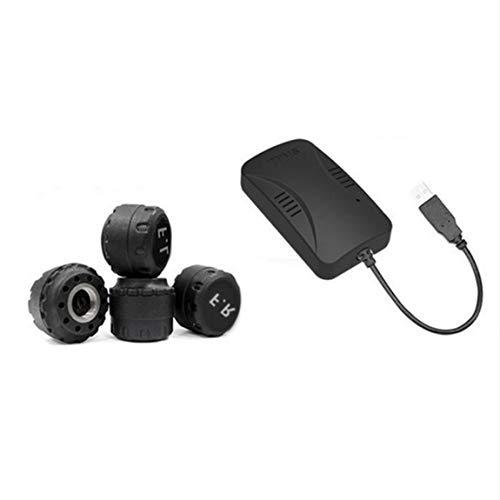 SeniorMar USB TPMS Android Wireless Auto-Detektor mit externen oder internen Sensoren Auto Reifen Alarm Reifendruck-Kontrollsystem