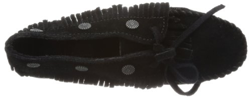 MinnetonkaFringed Moc - Mocassini donna Nero (BlackBlack)
