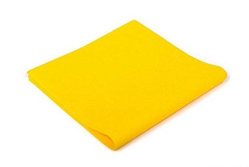 Tovaglia tnt 100x100cm 25 pezzi giallo coprimacchia per pub e ristoranti