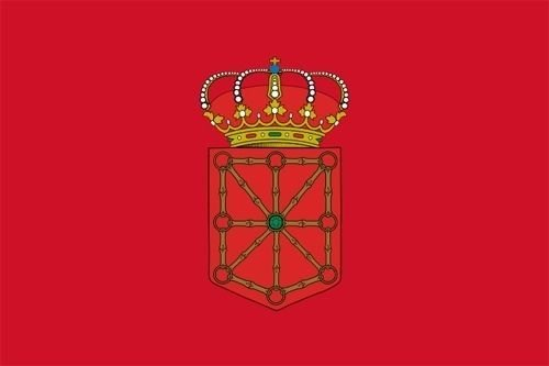 U24 Motorradflagge Navarra Fahne Flagge 20 x 30 cm
