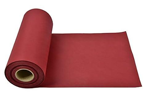 Sensalux Tischläufer, OEKO-TEX 100,Tischband, abwaschbar 25m lang (Farbe + Größe