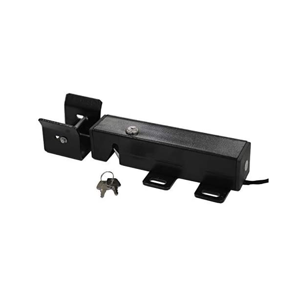 TOPENS ET24 Automatic Electric Gate Lock for Swing Gate Operator Opener  The Automatic Gate Lock Compatible with TOPENS A3/A5/A8, A3S/A5S/A8S, AD5/AD8/AD5S/AD8S, PW502/P802, Except for TOPENS KD702 Swing Gate Opener. Electric Lock can Unlocks and Locks Gates Automatically as You Like Add Security for Your Swing Gate Opener System; The Electric Lock Is Suitable for Strong Wind Place 1