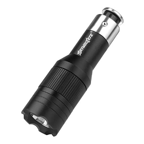 Barlingrock 2019 New LED Car Cigarette Lighter Vechicle Charging Flashlight Torch LAMP Flashlight Adjustable Focus Handheld Flashlight Super Bright Pocket and Waterproof Camping Outdoor -